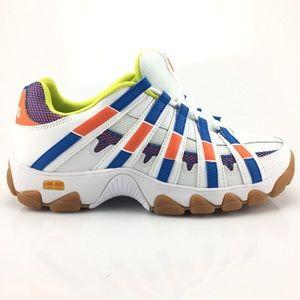 K-SwissTraining Walking Shoes White Orange Blue